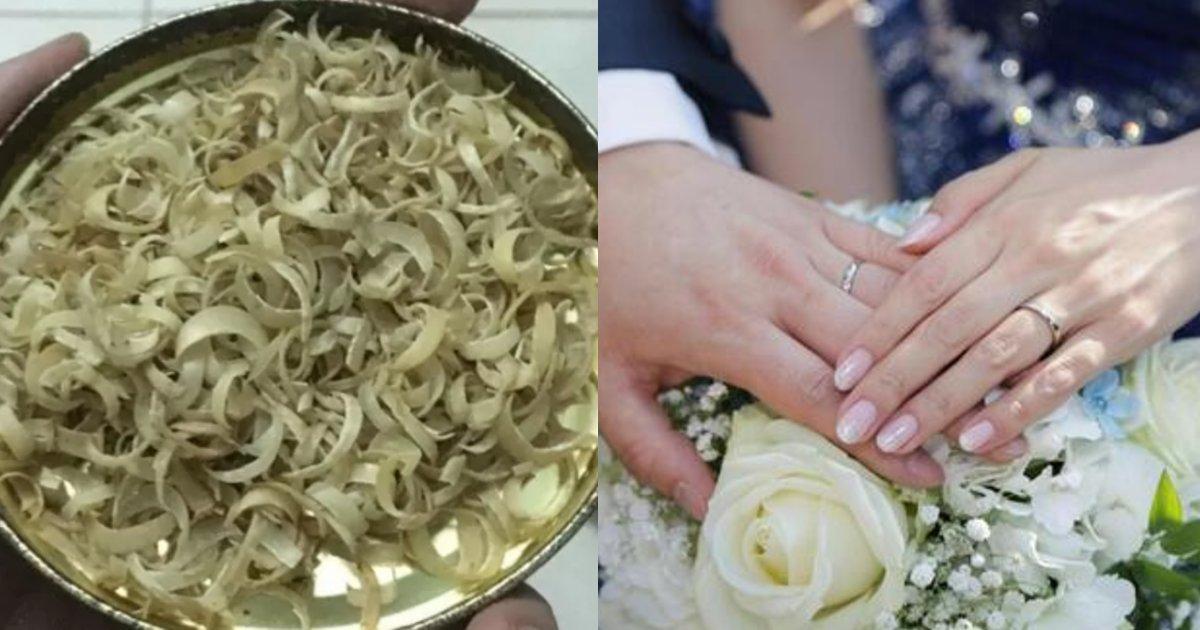 yubiwa.png?resize=412,232 - 恋人にプロポーズするべく5年間集めた○○で結婚指輪を作るという男性にツッコミの声相次ぐ「誰が喜ぶんだよ」