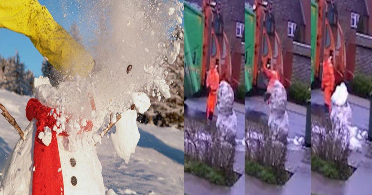 yuki daruma 1.png?resize=412,275 - 子供たちの雪だるまを壊した従業員らを解雇した英国の会社