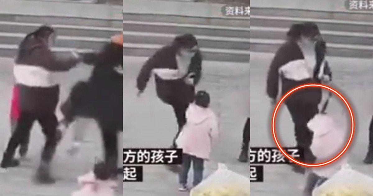 """00cf8e97 acf7 4291 be6f 267f749d72ab.jpeg?resize=412,275 - """"누가누가 발차기 잘하나""""…상상을 초월하는 중국 '엄마'들의 싸움 (+영상주의)"""