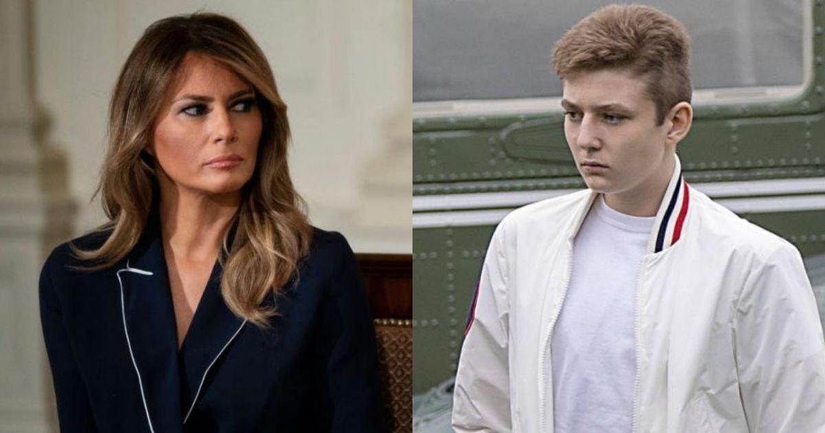1 144.jpg?resize=1200,630 - Melania Trump Lambasted For Greeting Son's Birthday With A 'Dark' Photo