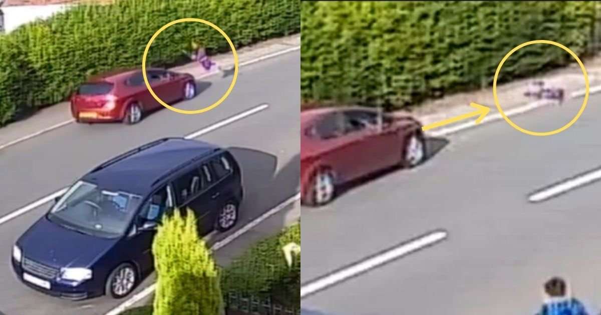 1 178.jpg?resize=1200,630 - Shocking Footage Shows Boy Sent Flying 40ft In A Car Accident