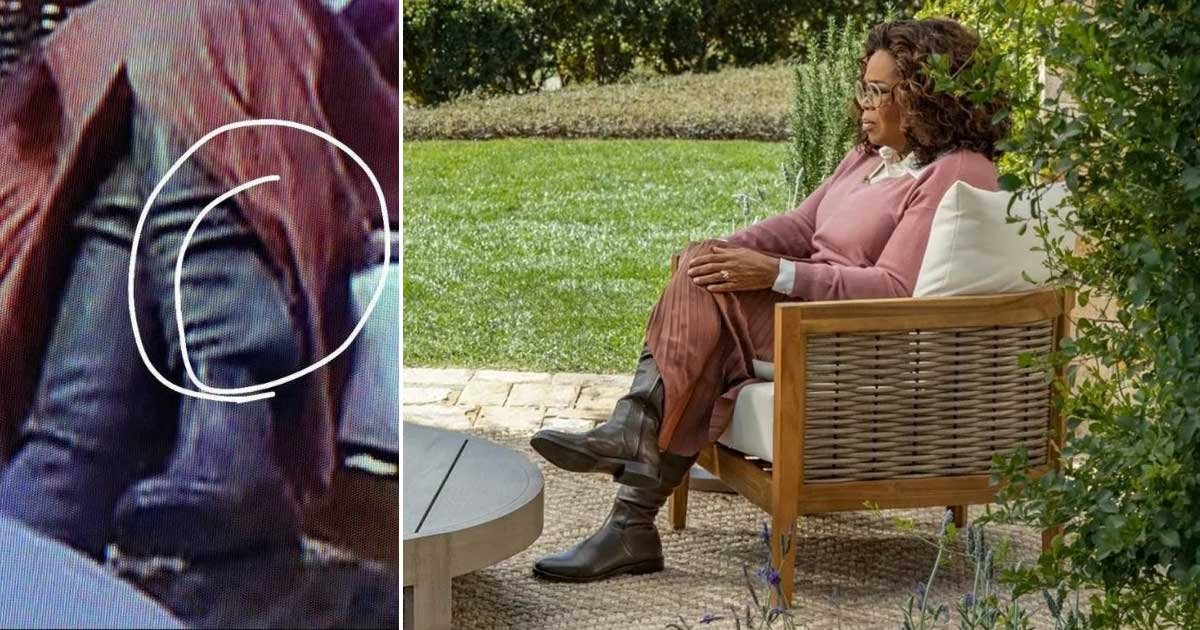 1 43.jpg?resize=412,232 - QAnon Conspiracy Theorists Say Oprah Was Wearing An Ankle Monitor During Interview