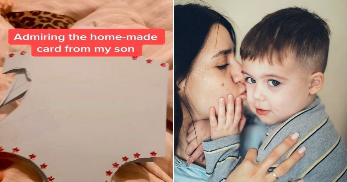 card5.jpg?resize=412,232 - Mother Receives Handmade Card From Son Then Reads Brutal Message Inside