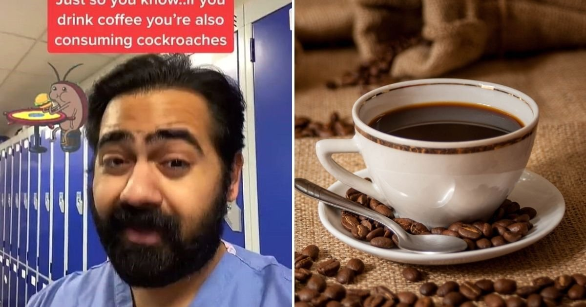 coffee.jpg?resize=412,232 - Doctor Goes Viral For Revealing Cockroaches Are Often Found In Pre-Grounded Coffee Beans