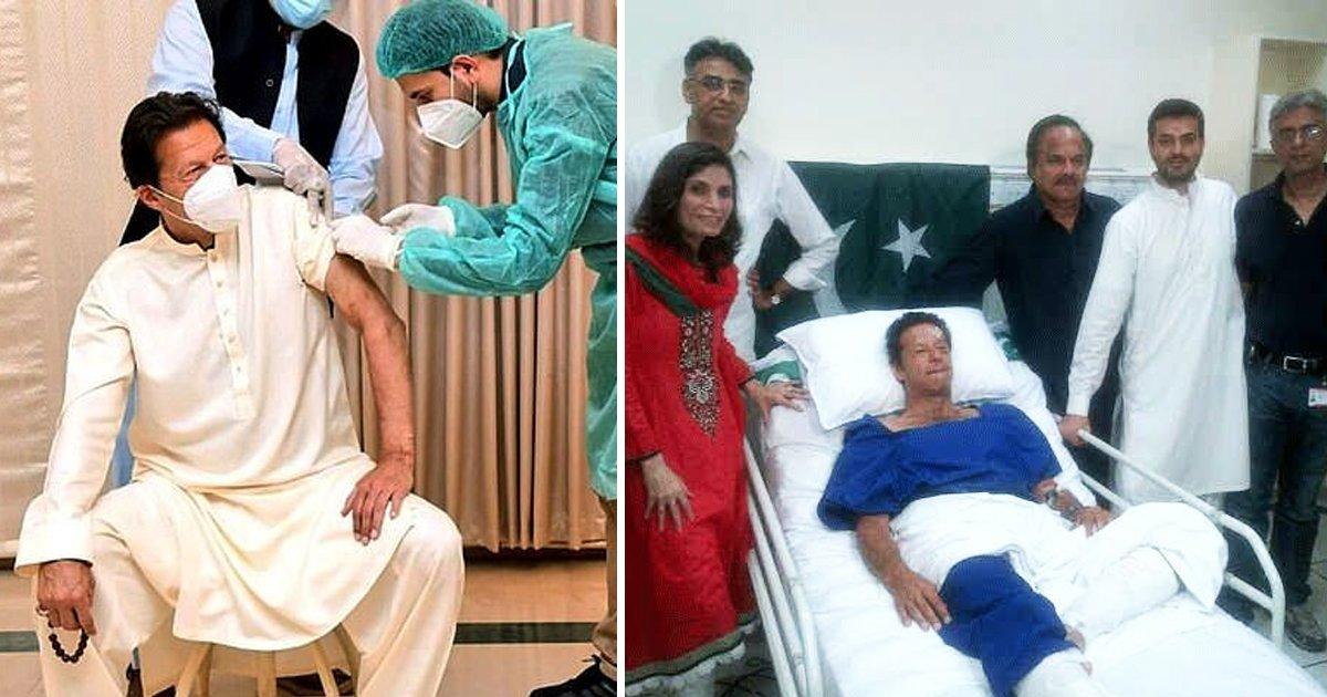 dddddddddddddd.jpg?resize=412,232 - Pakistan's Prime Minister Imran Khan Tests Positive For COVID-19 Just 2 Days After Receiving Vaccine