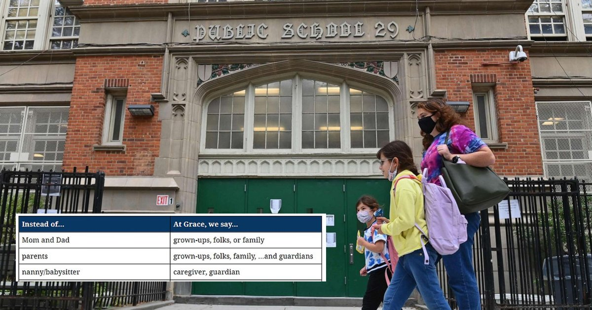 dsddfsdfsdf.jpg?resize=1200,630 - NYC School Asks Kids To Stop Using Words Like 'Mom' & 'Dad'