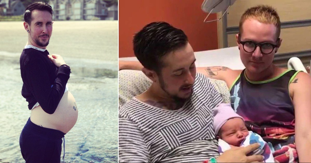 ghjf 32.jpg?resize=412,232 - 'Trans Man' Gives Birth To Healthy Baby Boy Despite All The Odds Against Him