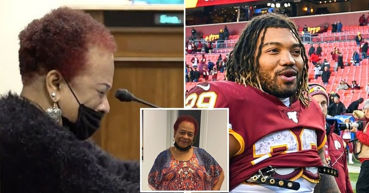 guice3.jpg?resize=412,232 - 74-Year-Old Grandmother Claims She Was S*xually Harassed By NFL Star Derrius Guice While 'His Friends Watched On And Laughed'