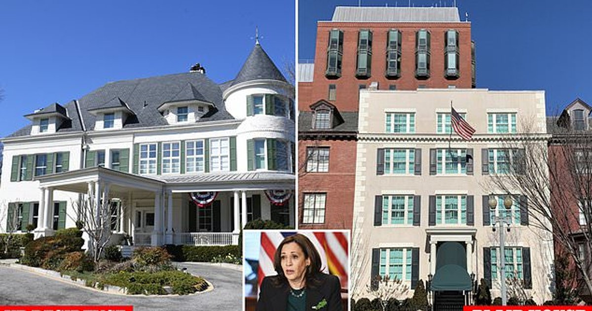 """harris thumb.png?resize=1200,630 - Kamala Harris Complains About Blair House Accommodations, """"Frustrated"""" With Living Out Of Suitcases As VP's Residence Is Being Renovated"""