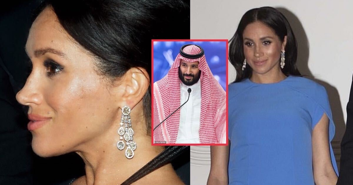 image from ios.jpg?resize=412,275 - Meghan Markle's $500,000 diamond earrings 'were a wedding gift from Saudi Crown Prince'