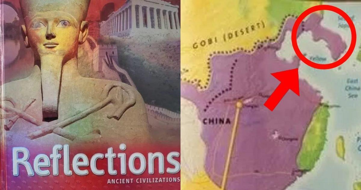 """kakaotalk 20210329 191927152 e1617013205544.jpg?resize=1200,630 - """"유명 교과서에서는 한국은 중국땅?""""..미국 유명 역사 교과서에 한국이 '중국 영토'로 표기됐습니다"""