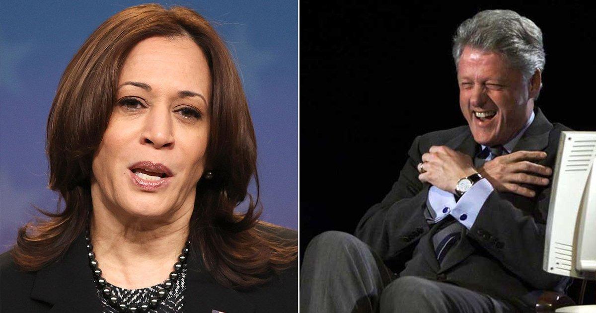 lkl.jpg?resize=1200,630 - Kamala Harris & Bill Clinton Discuss 'Empowering Women' Despite #Metoo Criticism