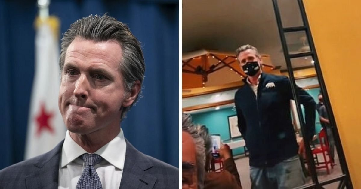 newsom5.jpg?resize=412,232 - Governor Slammed For Filming A TikTok Video Inside Restaurant After Banning Indoor Dining