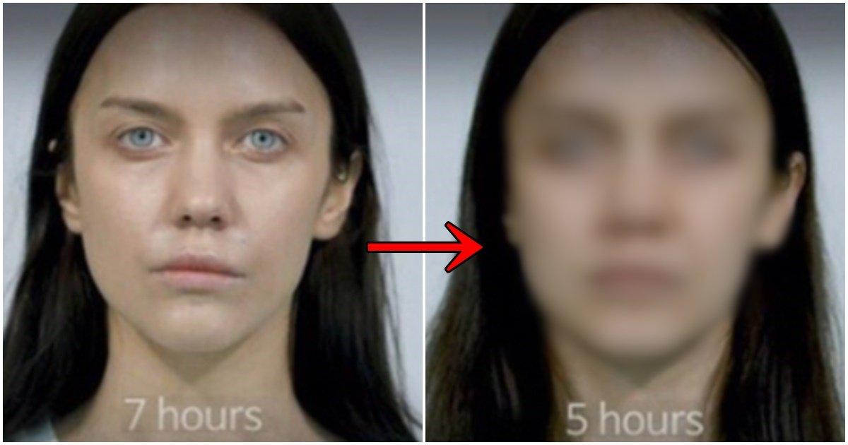 page 29.jpg?resize=1200,630 - 수면시간을 7시간에서 5시간으로 바꿨더니 생긴 충격적인 얼굴 변화