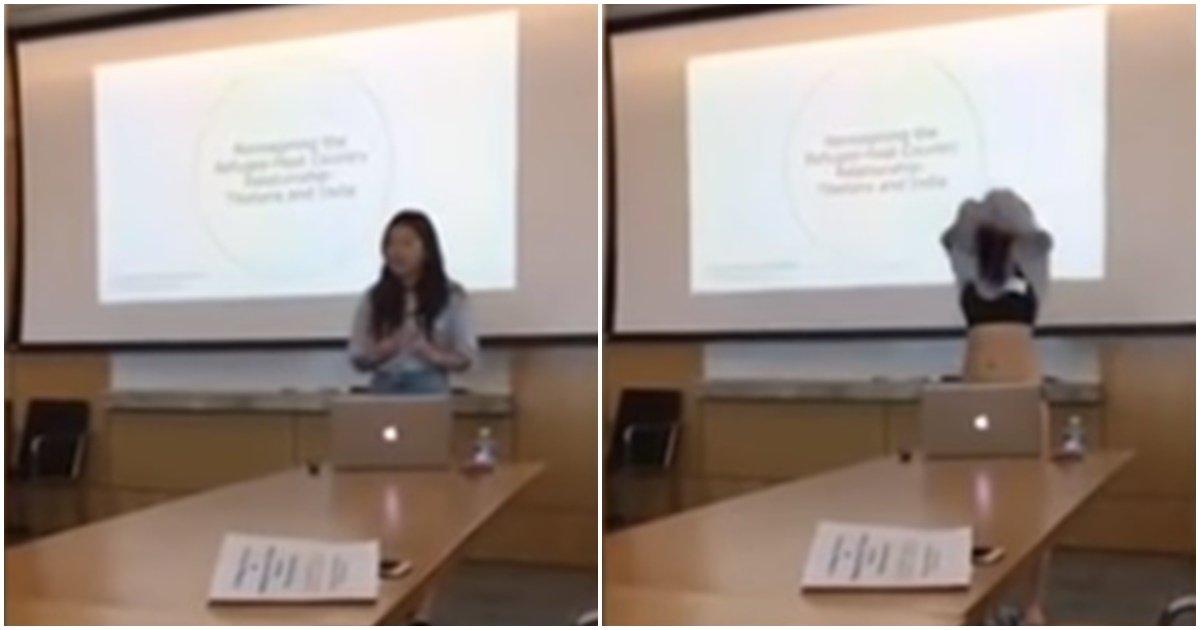 page 42.jpg?resize=412,232 - 뉴욕에 있는 대학에 다니는 한국 여학생이 논문을 발표하다가 갑자기 벗기 시작한 이유