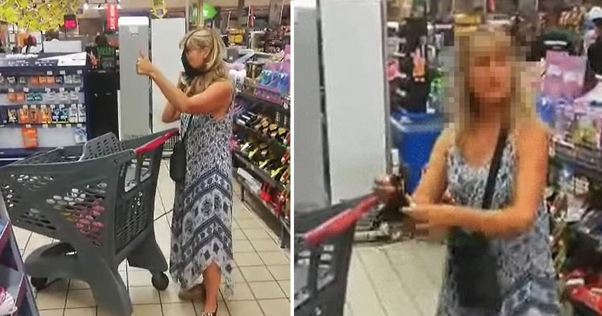 pppppppppppo.jpg?resize=412,232 - New Footage Shows Woman Removing Thong To Use As Face Mask In Supermarket