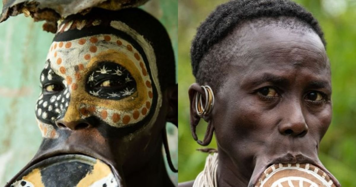 smalljoys 1 3.jpg?resize=412,232 - A Look Inside A Tribe Where Women Wear Large Lip Plates To Determine Their Worth