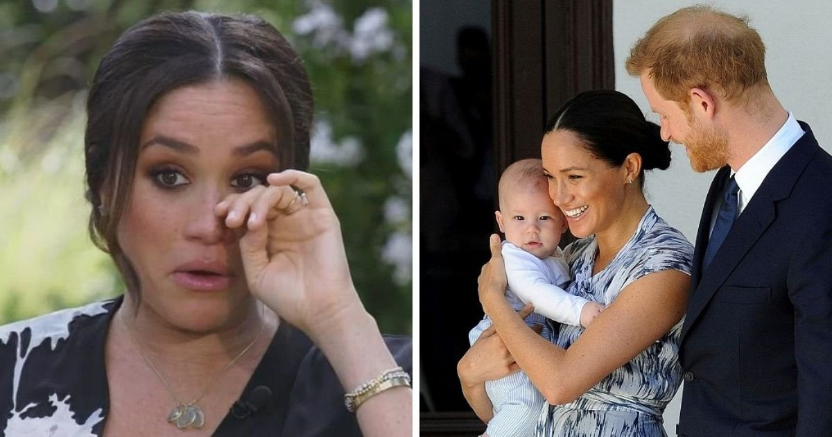 untitled design 11 1.jpg?resize=412,275 - Meghan Markle Claims The Royals Were Worried About How Dark Archie's Skin Would Be In Bombshell Oprah Interview