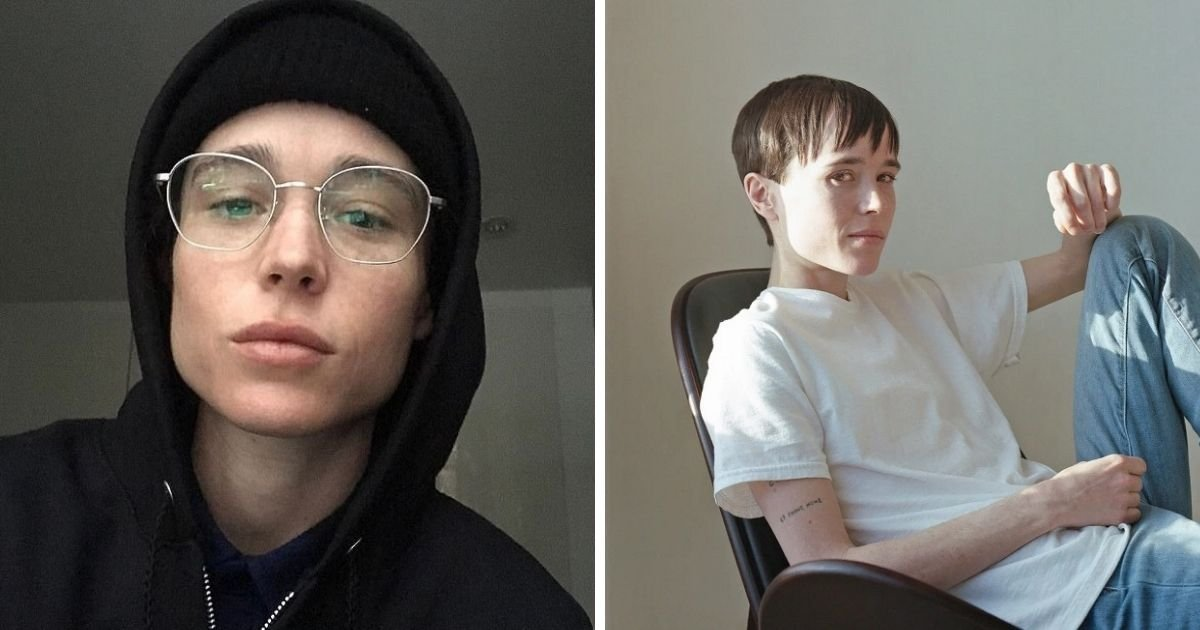 untitled design 3 3.jpg?resize=1200,630 - Elliot Page Reveals He Underwent Top Surgery And Says He 'Wanted To Be A Boy' Since He Was 9