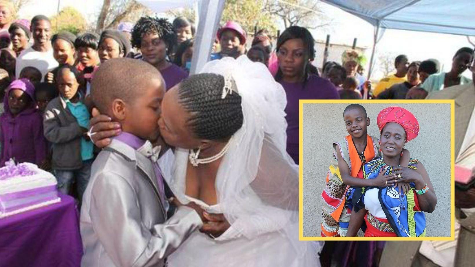 1 116.jpg?resize=412,232 - Woman, 62, Marries Boy, 9, In A 'Sickening' Wedding Ceremony