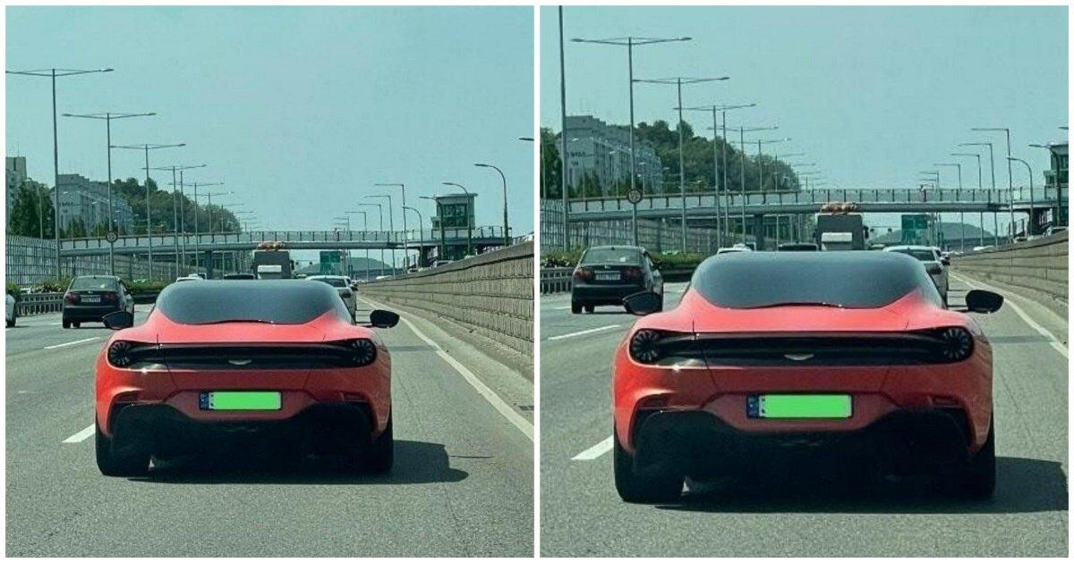 """1 129.jpg?resize=412,232 - """"한국 도로에 왜 이 차가...?""""... 화제가 되고 있는 빨간 차의 '충격적인' 정체와 가격.jpg"""