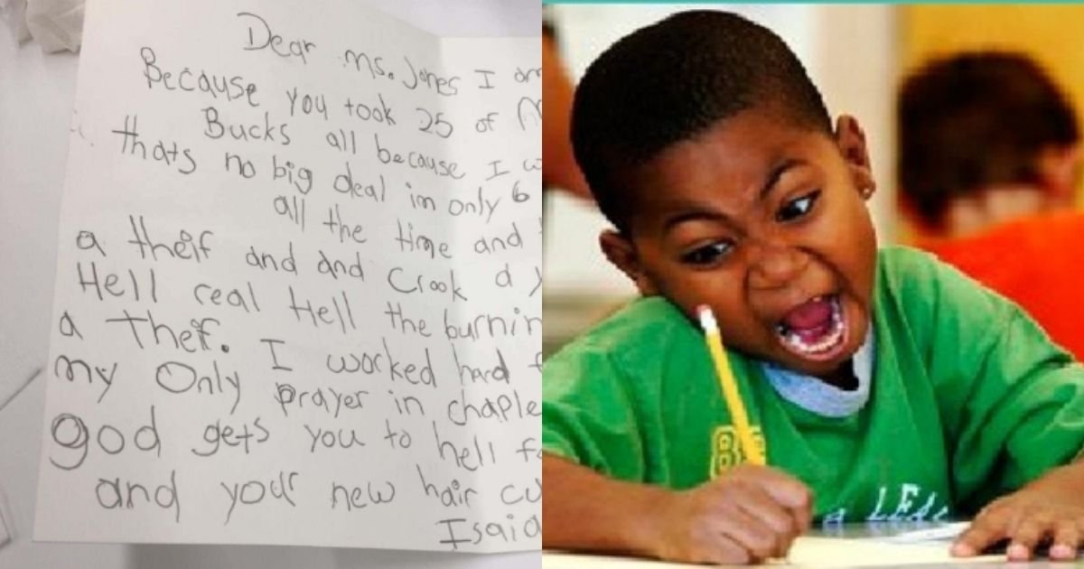 1 27.jpg?resize=1200,630 - Teacher Punishes 6-Year-Old For Talking In Class, Kid Claps Back In The Sassiest Way Possible