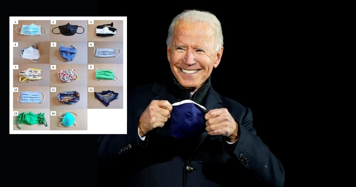 1 30.jpg?resize=1200,630 - Biden Administration Announces '$500,000 Face Mask Innovation Contest' To Improve Its Design