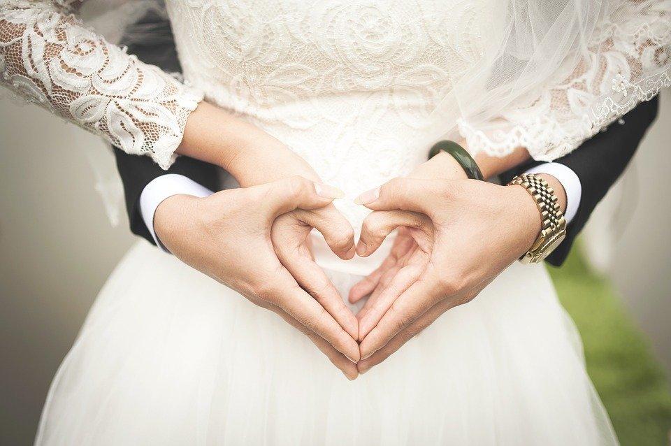 Heart, Wedding, Marriage, Hands, Romantic, Marry