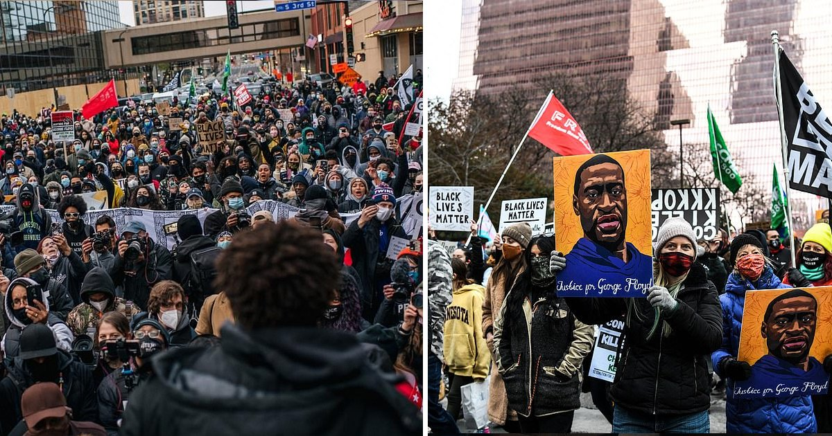12th 1.jpg?resize=1200,630 - 3000 National Guard Deployed In Minnesota As BLM Protesters March Demanding Justice For Floyd