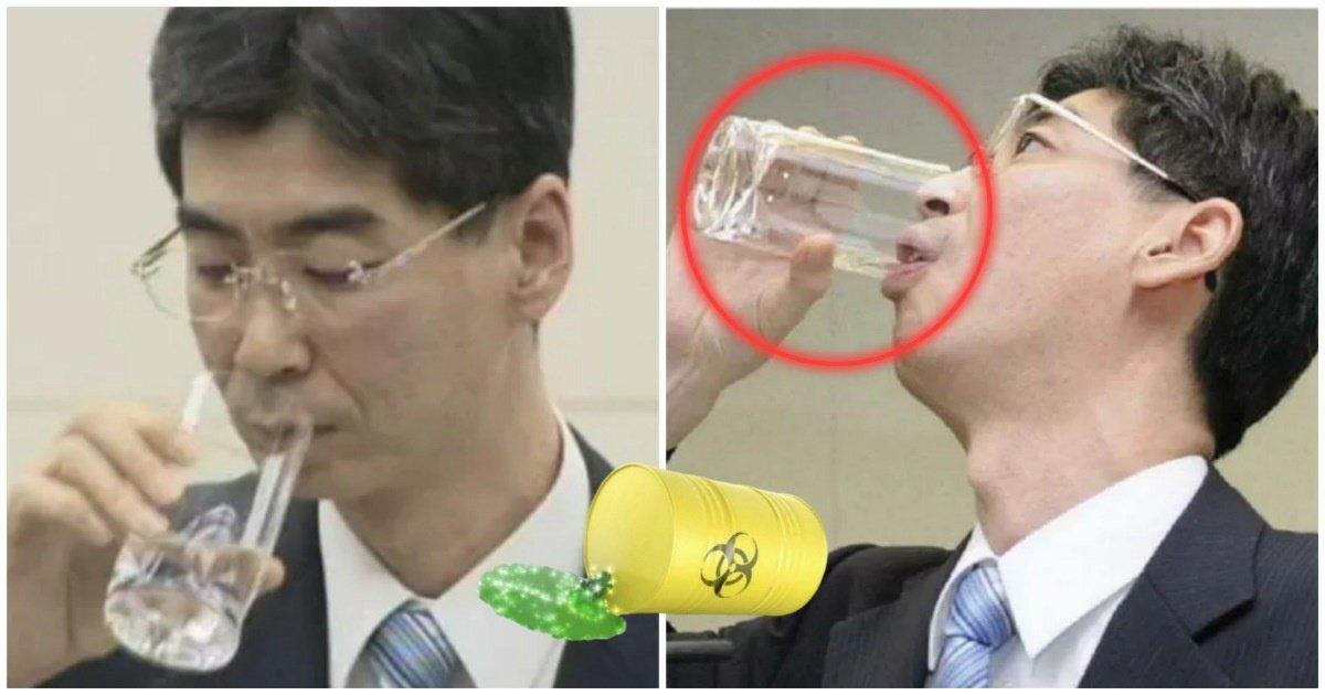 """5 55.jpg?resize=412,232 - """"방사능 오염수엔 문제없다!""""며 벌컥벌컥 들이킨 일본 공무원의 '충격적인' 현재 상태.jpg"""