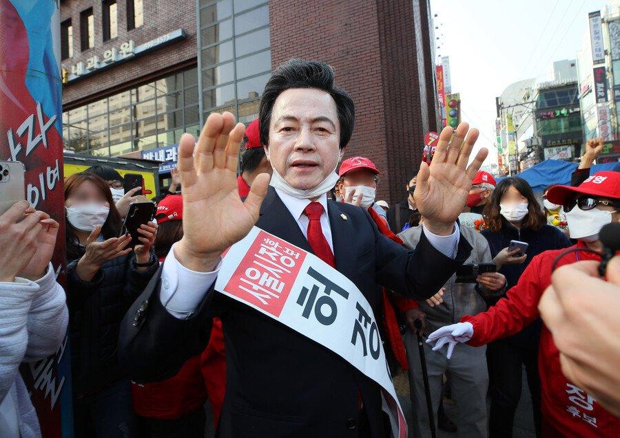 서울시장 선거 3위는 허경영 : 국회·정당 : 정치 : 뉴스 : 한겨레