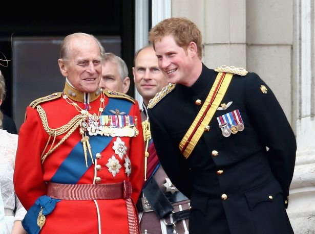 Prince Harry and other royal members won