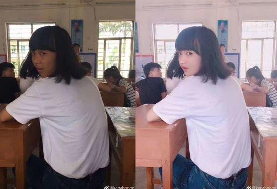 """이 정도면 성형"""" 중국 여학생들의 믿기 힘든"""