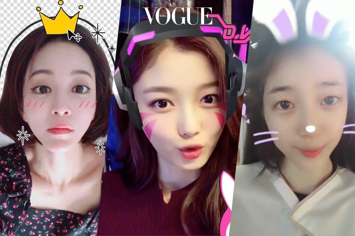 여자 연예인들의 셀카를 책임지는 카메라 앱 | 보그 코리아 (Vogue Korea)