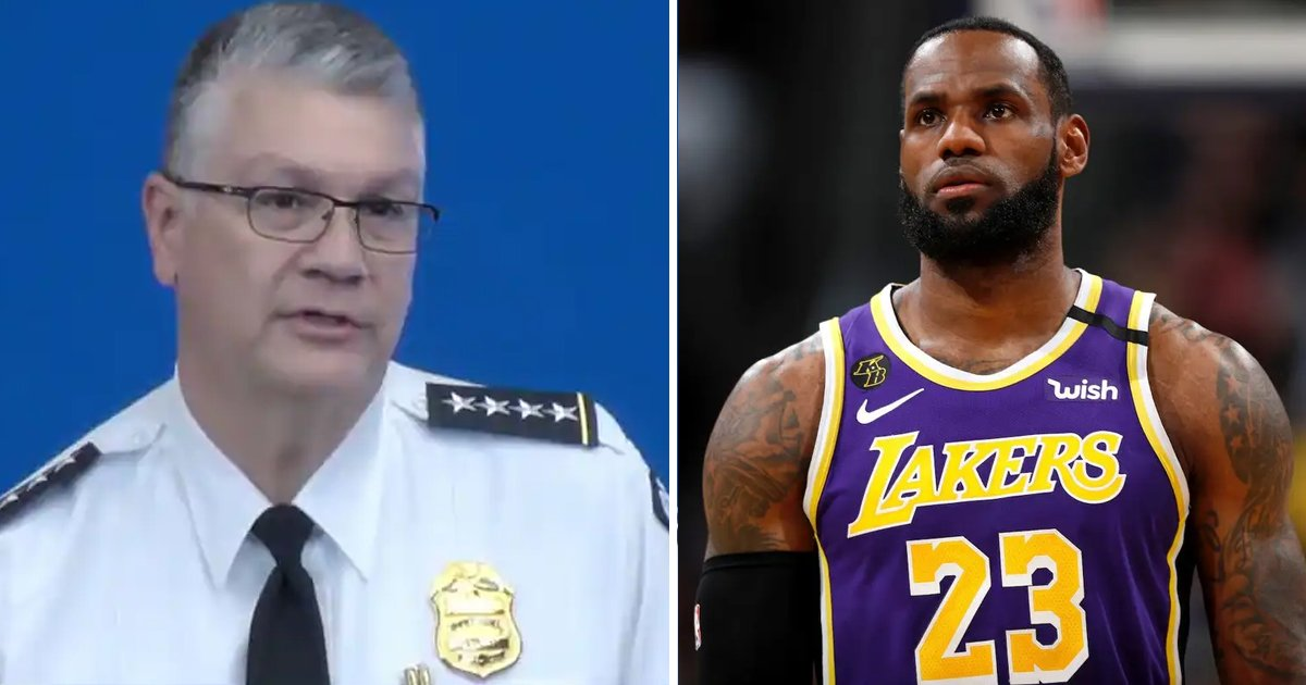 5th 1.jpg?resize=412,275 - LeBron James Targets Ohio Police Officer With Haunting 'YOU'RE NEXT' Tweet