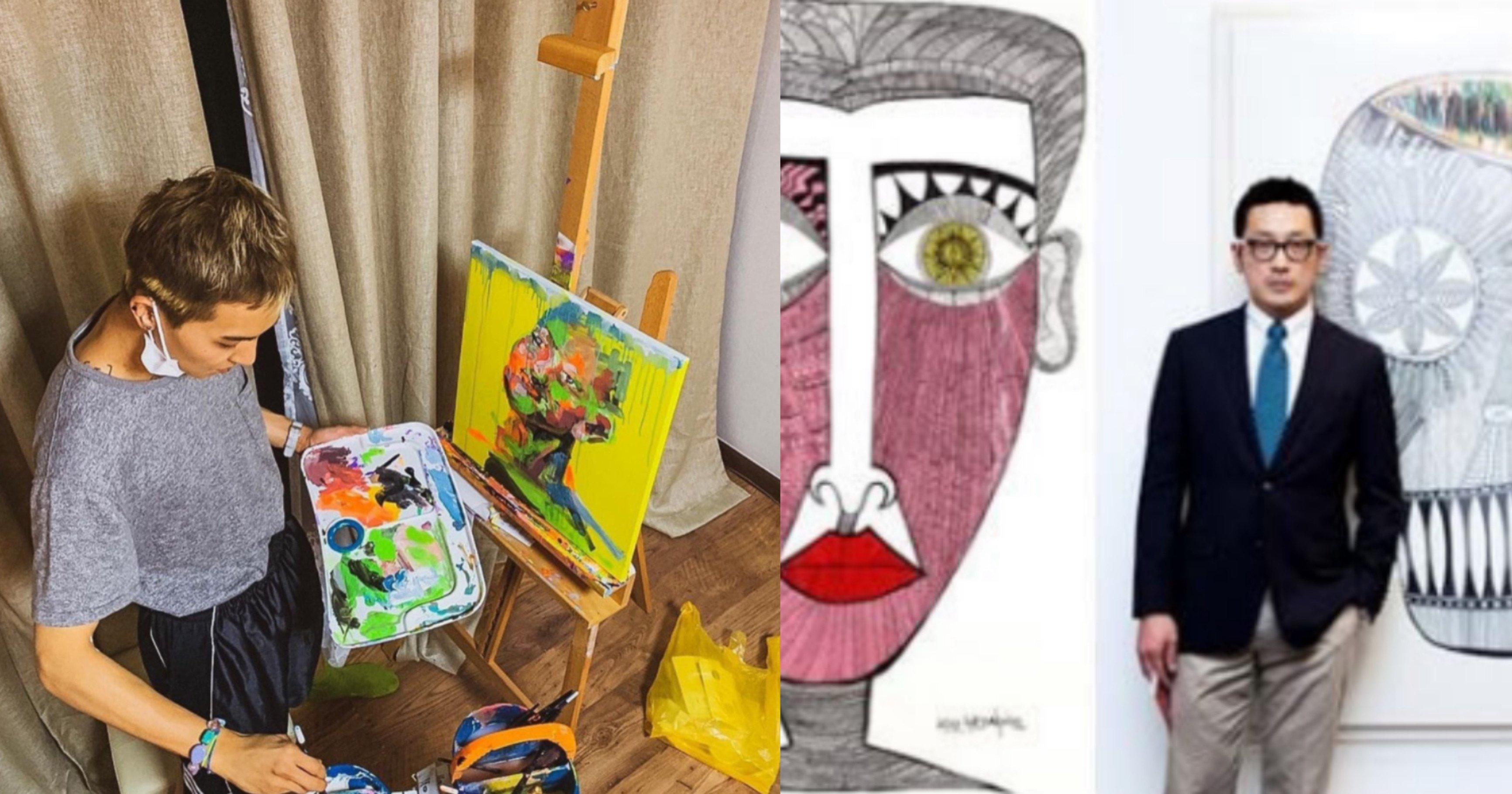 64f9eb1e e557 4dc7 b5b8 76e99e64ffa5.jpeg?resize=412,232 - 최근 논란 중인 한 미술작가가 '직설적으로' 평가한 화가로 데뷔한 연예인들의 그림 실력(+사진)