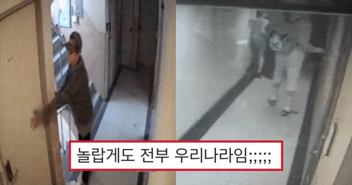 "744dcd70 0937 4460 b64d 2433564774db.jpeg?resize=1200,630 - ""저 문이 열렸더라면..""…혼자사는 여성을 노리는 소름돋게 충격적인 주거 침입 CCTV들.gif"
