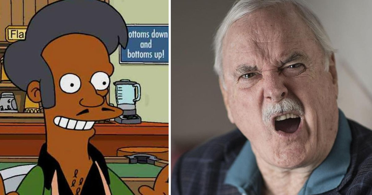 agaggg.jpg?resize=1200,630 - John Cleese Makes Fun Of Hank Azaria's Apology For Apu On 'The Simpsons'