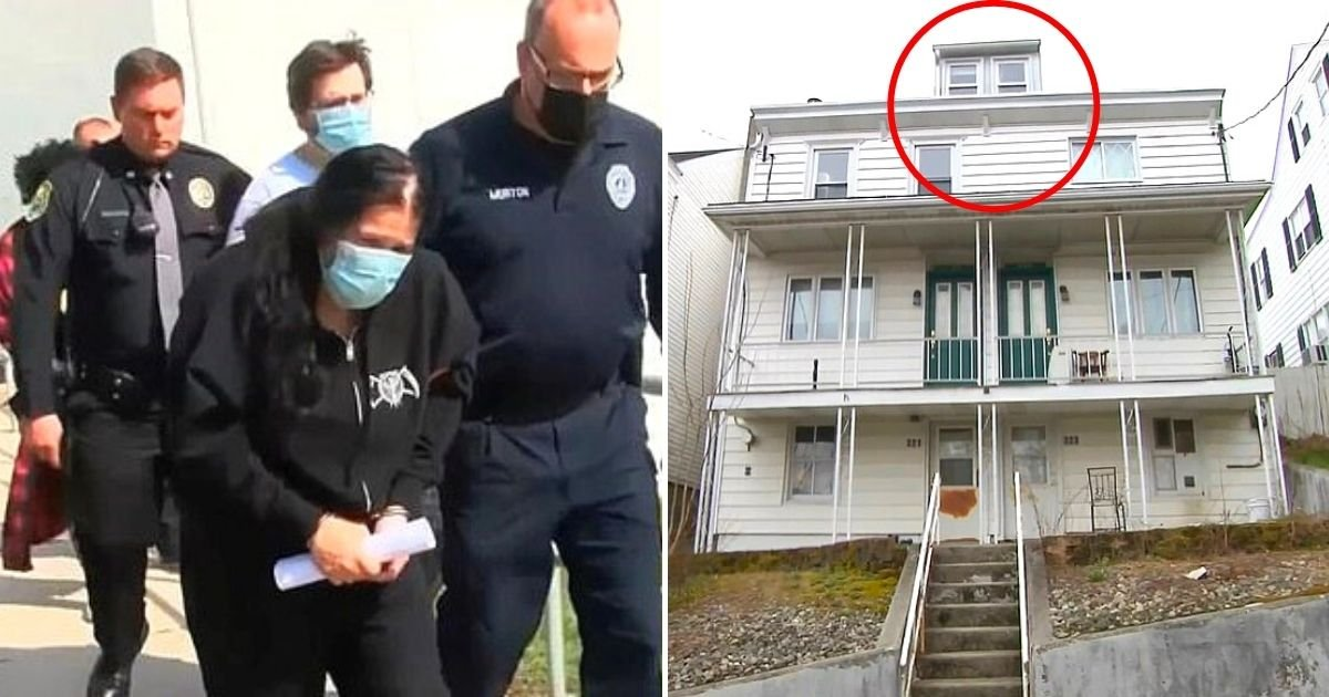 attic5.jpg?resize=732,290 - Parents And Grandmother 'Locked Three Emaciated Children In An Attic' For Several Years