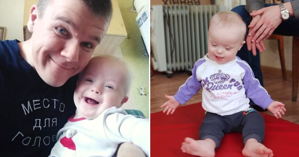 baby7.jpg?resize=412,232 - Mother Wants To Give Baby With Down Syndrome To Foster Care, But This Father Decides To Raise His Son On His Own