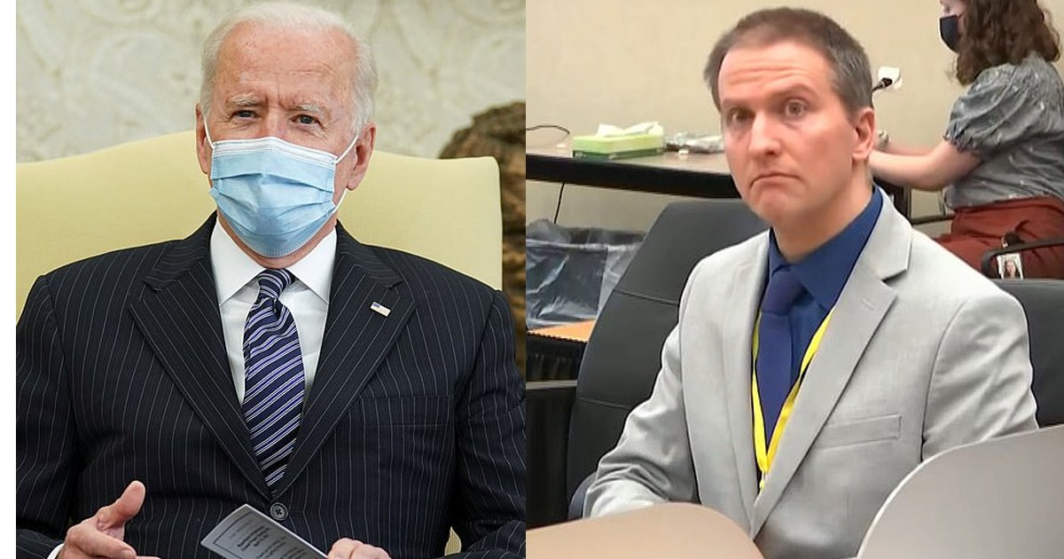 "bidenthumb.png?resize=412,275 - President Biden Comments On George Floyd Trial, Evidence Is ""Overwhelming"" And Calls For His Brother To Catch The ""Right Verdict"""