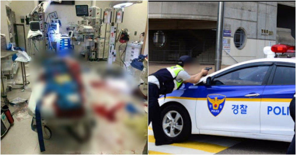 collage 152.png?resize=412,275 - 자신을 무시했다며 '여학생'을 납치하고, 경찰 총을 뺏어 경찰관 2명을 쏴버린 구미 고등학생