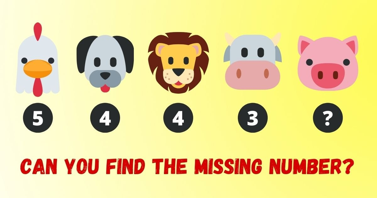 credit vonvon.jpg?resize=412,232 - Can You Figure Out The Missing Number? The Majority Of Adults Struggle With This Simple Puzzle