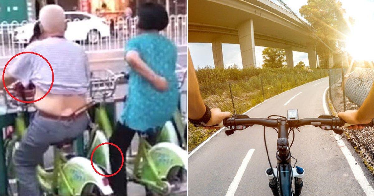 eca09cebaaa9 ec9786ec9d8c 24.png?resize=412,232 - 공유 자전거 위에서 'ㅇㅇ하는' 무개념 시민들