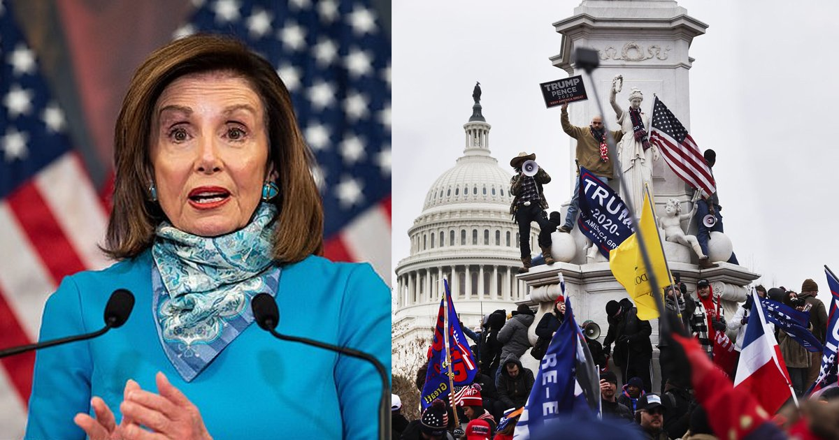 ffdddd.jpg?resize=412,232 - Nancy Pelosi Claims She Could Have 'Battled' Off MAGA Rioters Using Her 4-Inch Stilettos