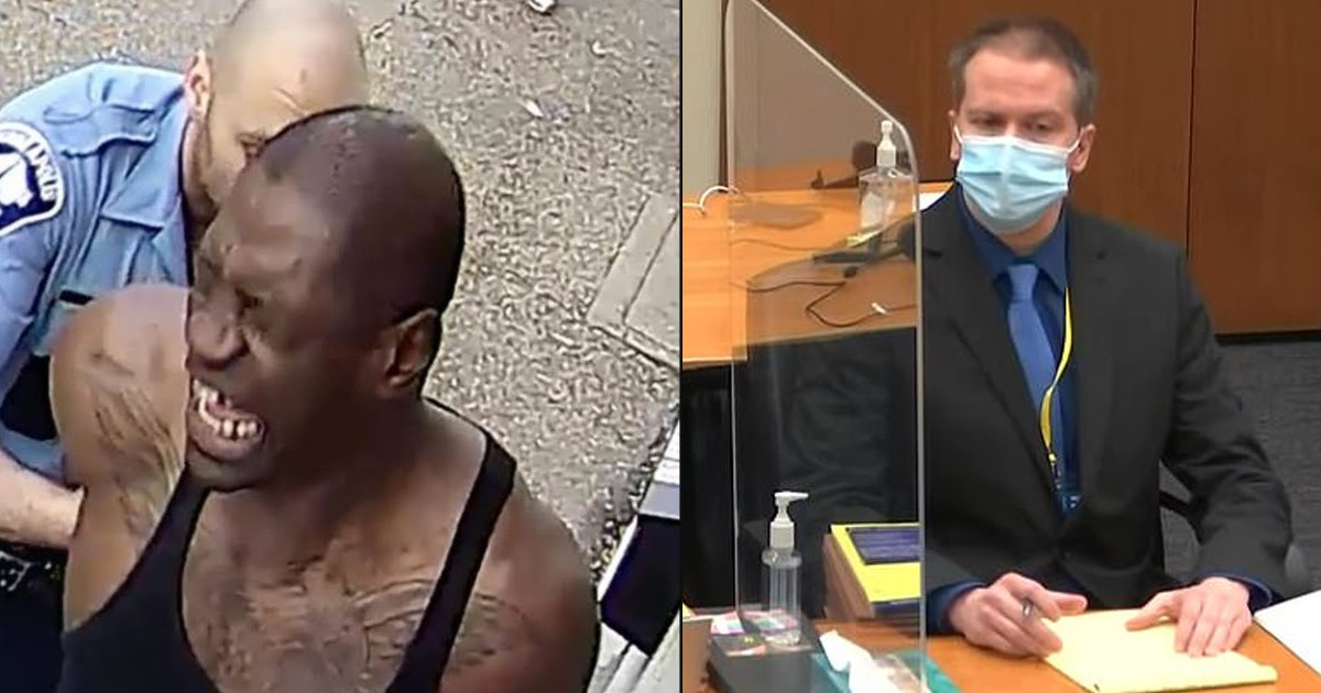 """floyd 1.png?resize=1200,630 - George Floyd BEGS For Water But Chauvin Ignores Request And Tells Him To """"Stop Talking"""" As He Continues To Use """"Excessive Force"""" On His Neck"""