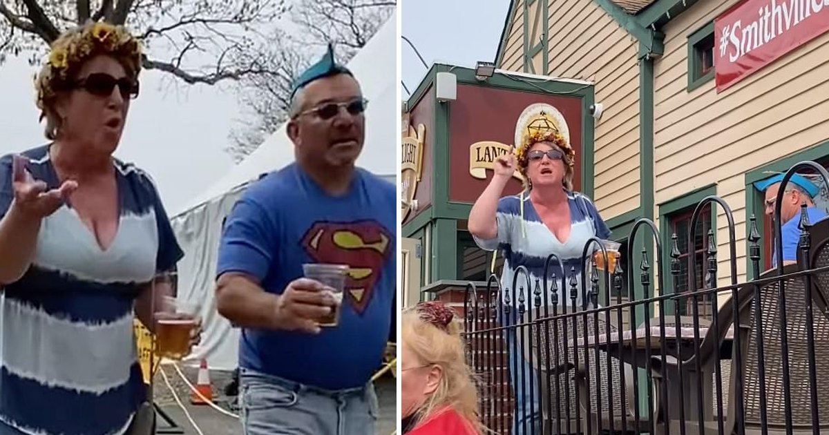 """ggsgsggg.jpg?resize=1200,630 - """"She's a Man""""- NJ Vice Principal Caught Tossing Beer At Diners Who Filmed His Wife's Transphobic Rant"""