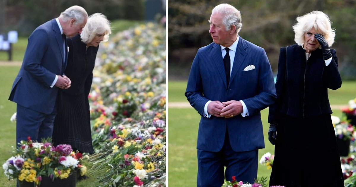 ghghghg.jpg?resize=412,232 - Emotional Charles & Camilla Tear Up For Prince Philip After Viewing Sea Of Tributes Left By Public