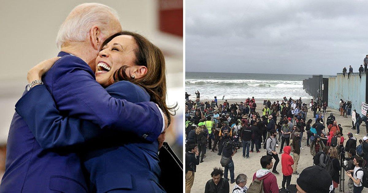 gsgsgs 2.jpg?resize=1200,630 - Biden PRAISES Kamala Harris For Work On Border After Urging Congress To Grant 11 MILLION Migrants Path To Citizenship