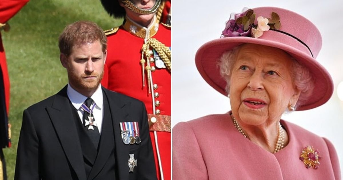 harry4 1.jpg?resize=732,290 - Prince Harry May Delay His Return To US To Stay For The Queen's Birthday After Peace Talks With Brother Prince William